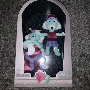 The Haunted Mansion limited release plushies